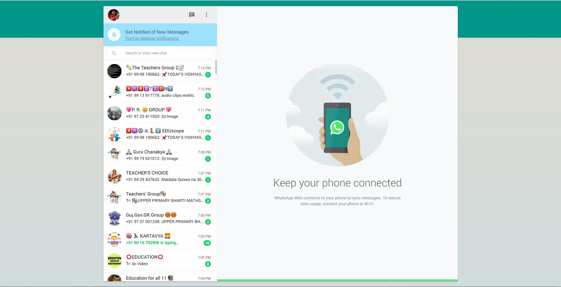 WhatsApp Web Available for Computer Web Browser