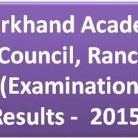 JAC 12th Arts Results 2015