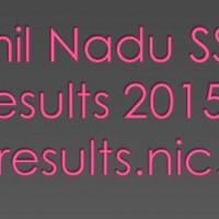 Tamil Nadu SSLC Results 2015