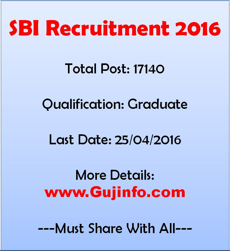 Bank Jobs In India Junior Assistant Posts In National Co: SBI Clerical Recruitment 2016 Notification Apply Online